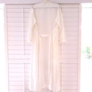 Christian Dior Robe White Lace Size M Saks Fifth